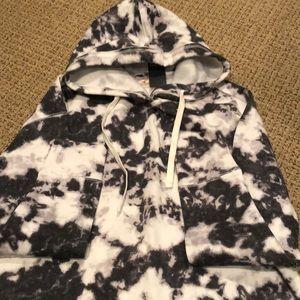 Hollister tie dye hoodie